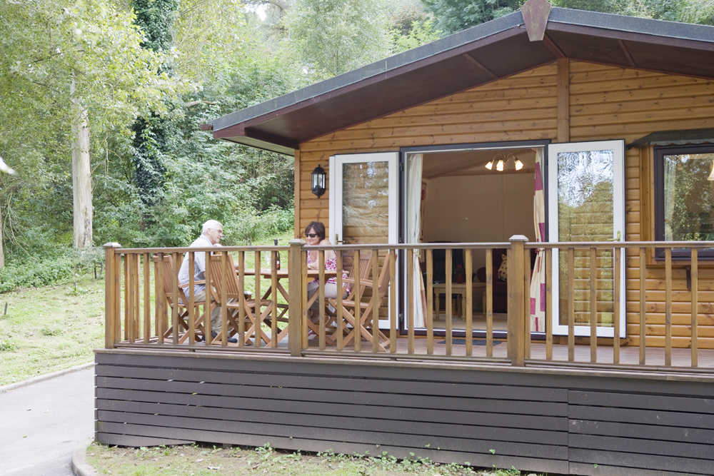 Symonds Yat Holiday Lodge Decking