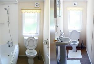 Symonds Yat Lodge Bath, Shower & Second Toilet