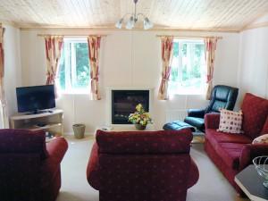 Symonds Yat Lodge Lounge Area