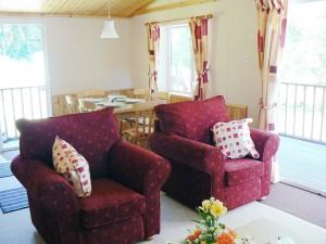 Symonds Yat Lodge Lounge & Dining Area