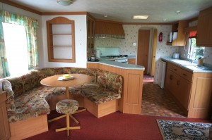 Rental 1 caravan lounge